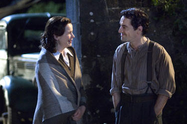 Emily Watson and Ben Chaplin in &quot;The Water Horse: Legend of the Deep.&quot;